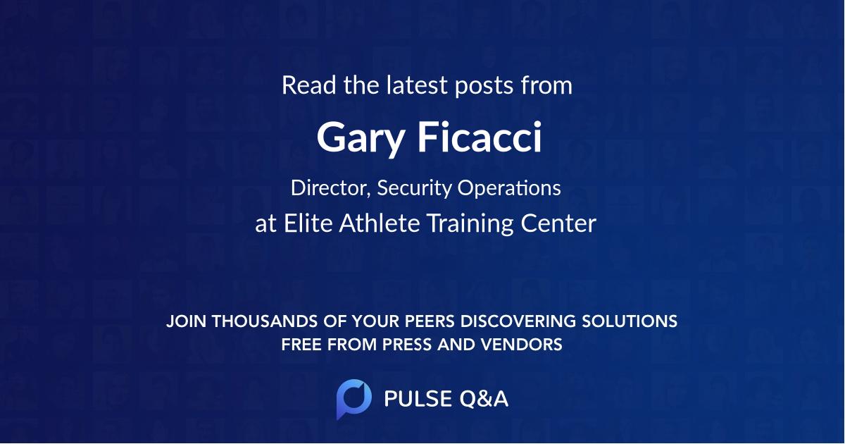 Gary Ficacci