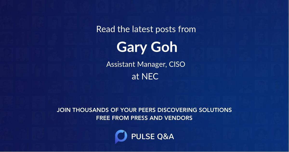 Gary Goh