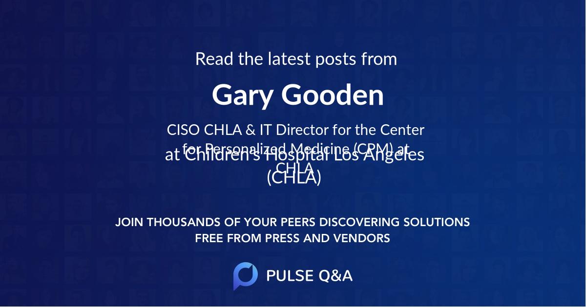 Gary Gooden