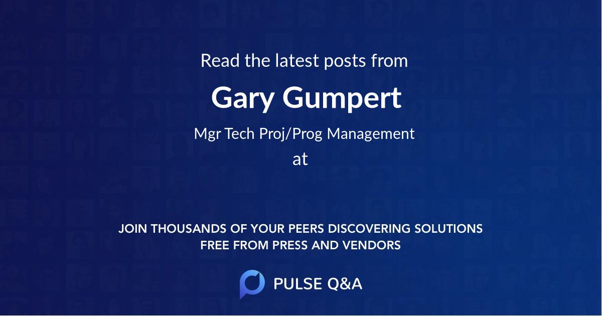 Gary Gumpert