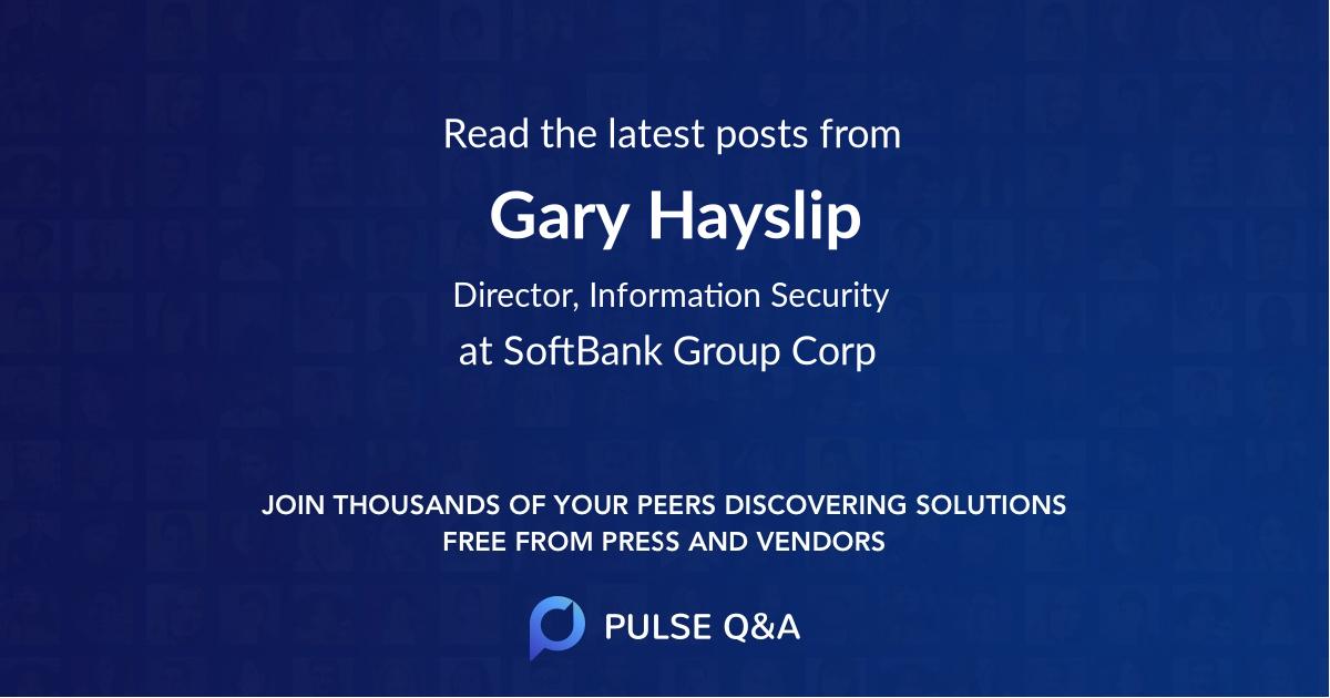 Gary Hayslip