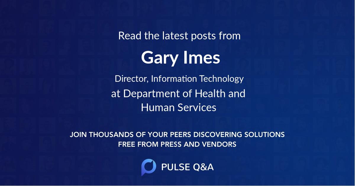 Gary Imes
