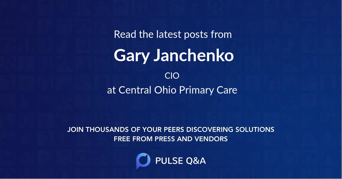 Gary Janchenko
