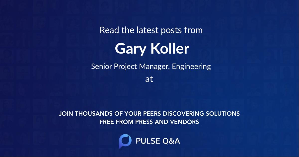 Gary Koller