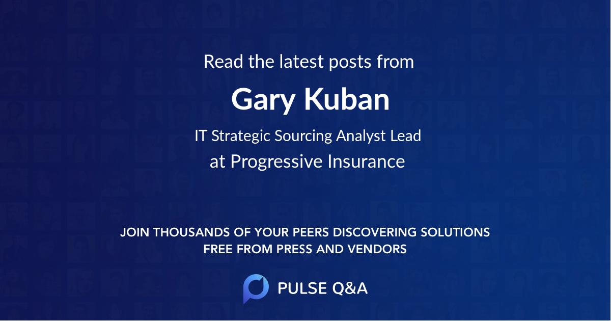 Gary Kuban