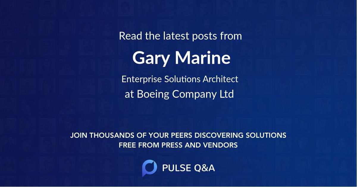 Gary Marine