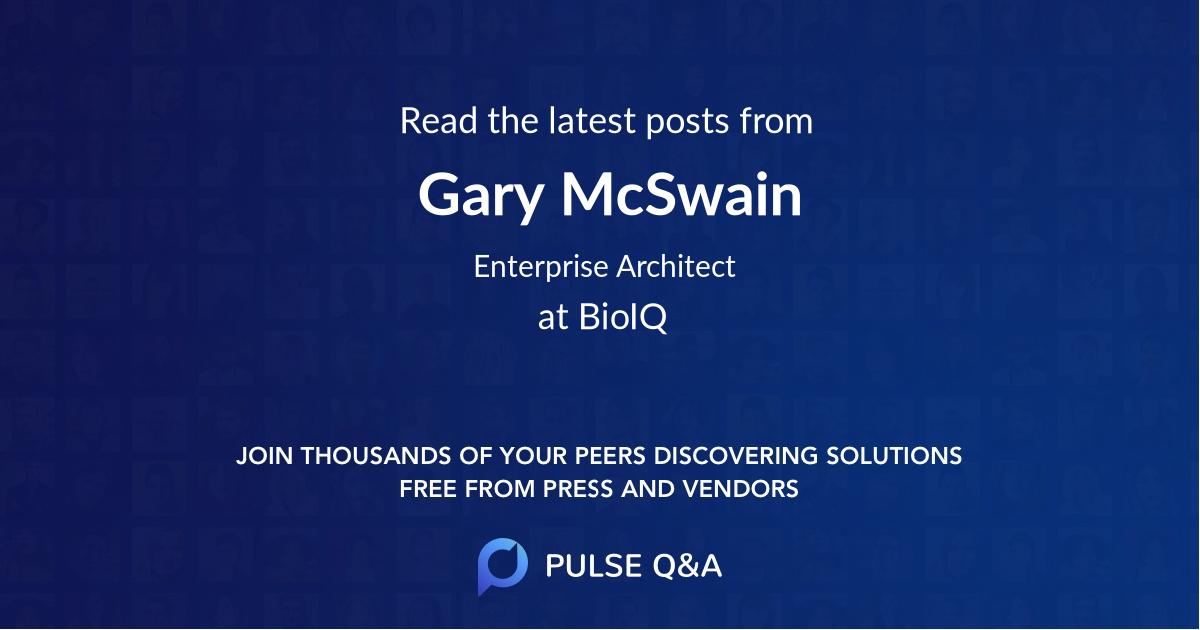 Gary McSwain