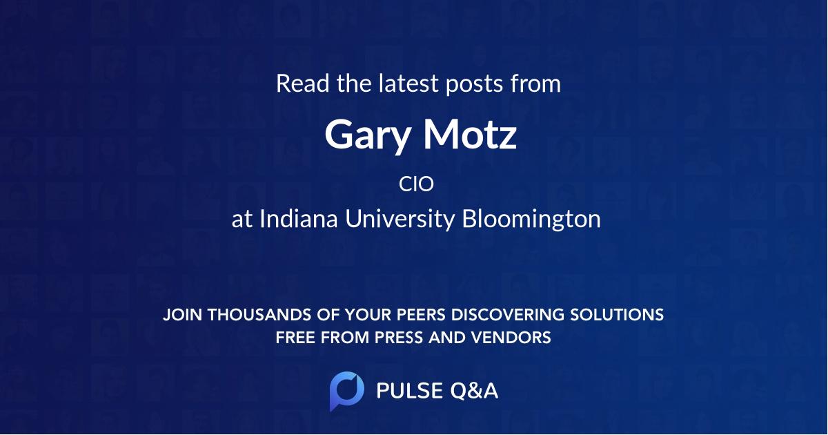 Gary Motz