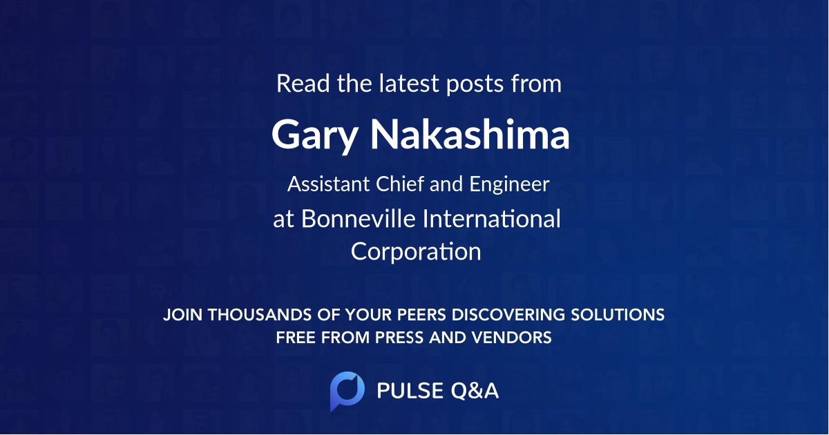Gary Nakashima