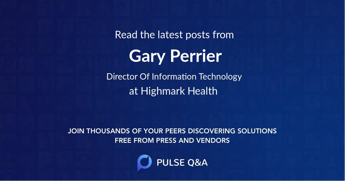 Gary Perrier