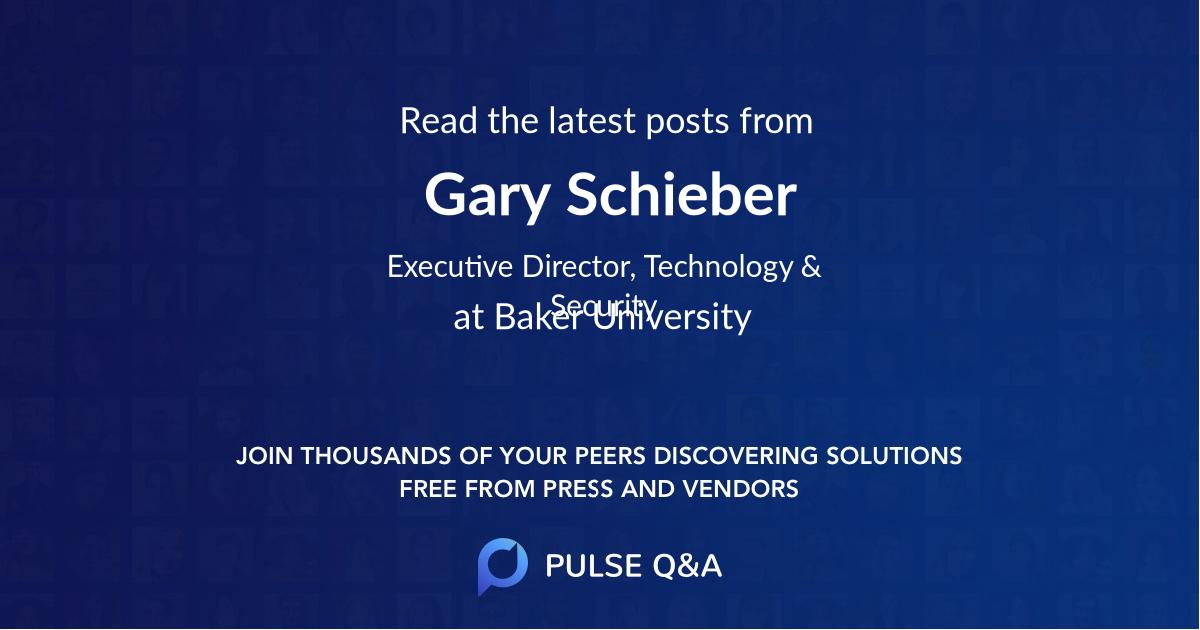 Gary Schieber