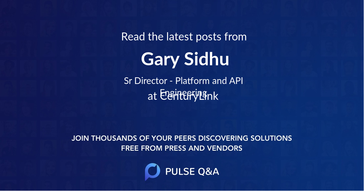 Gary Sidhu