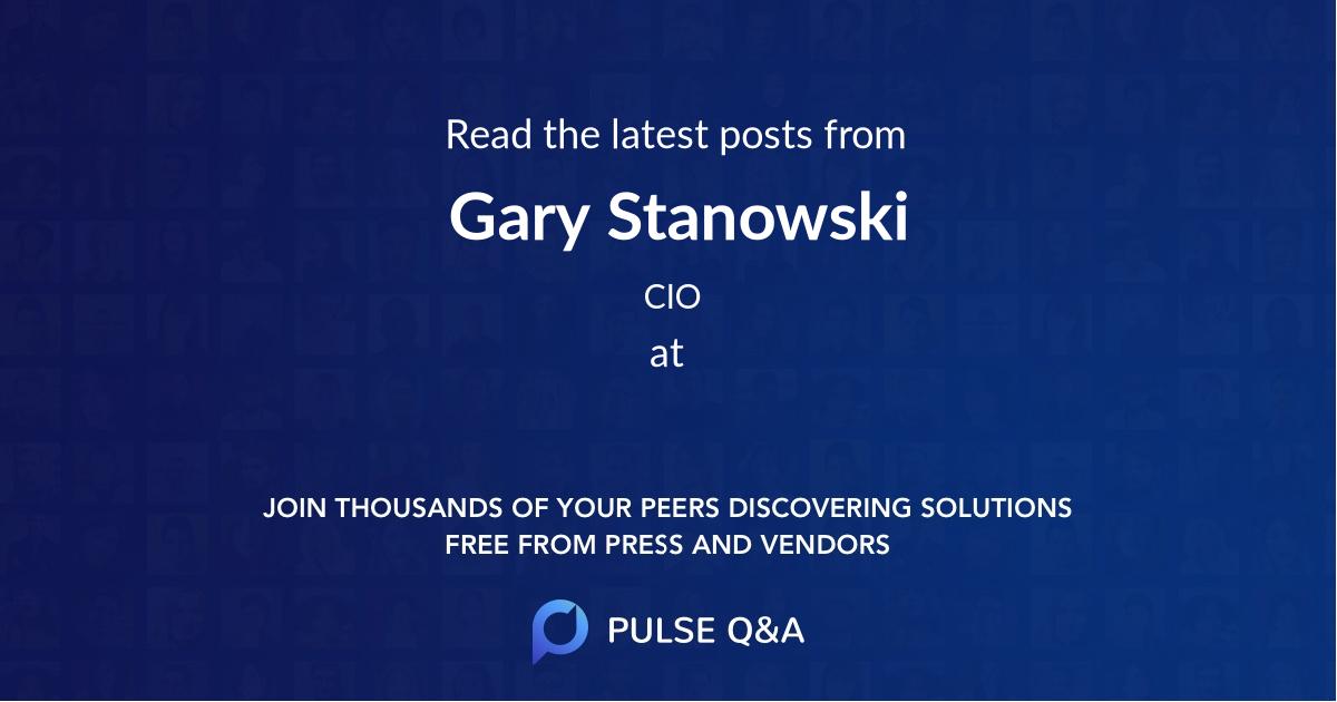 Gary Stanowski