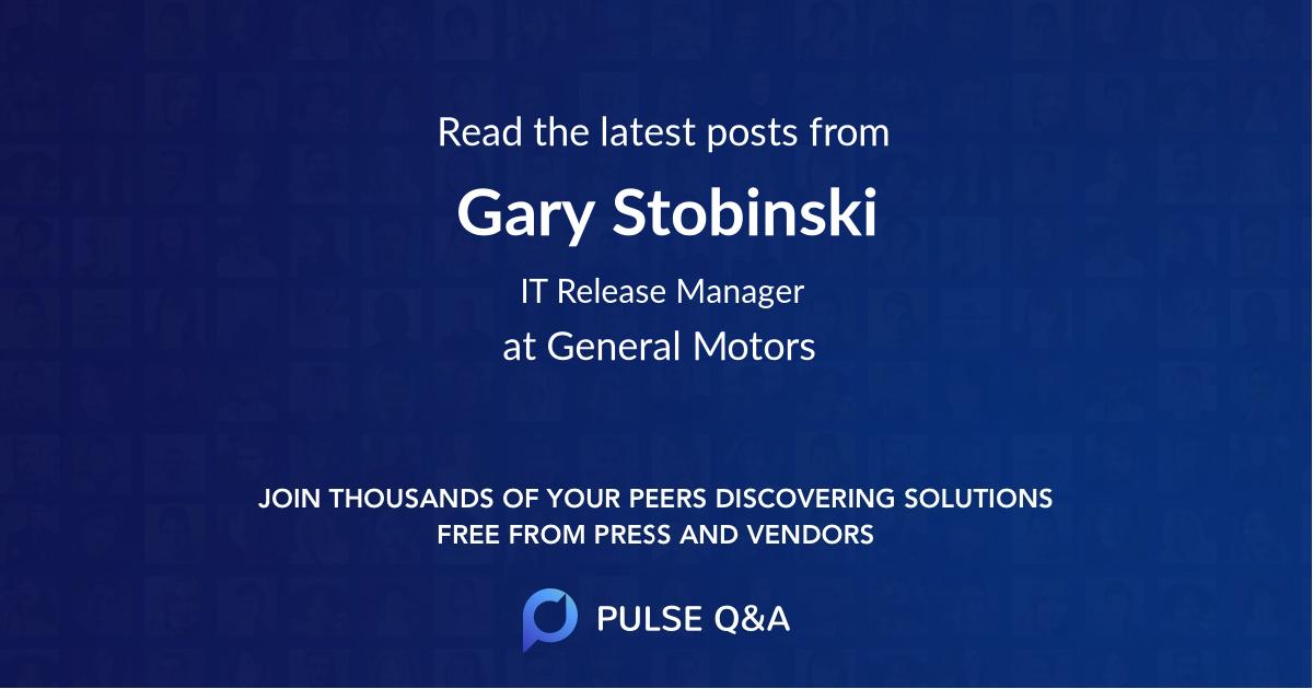 Gary Stobinski