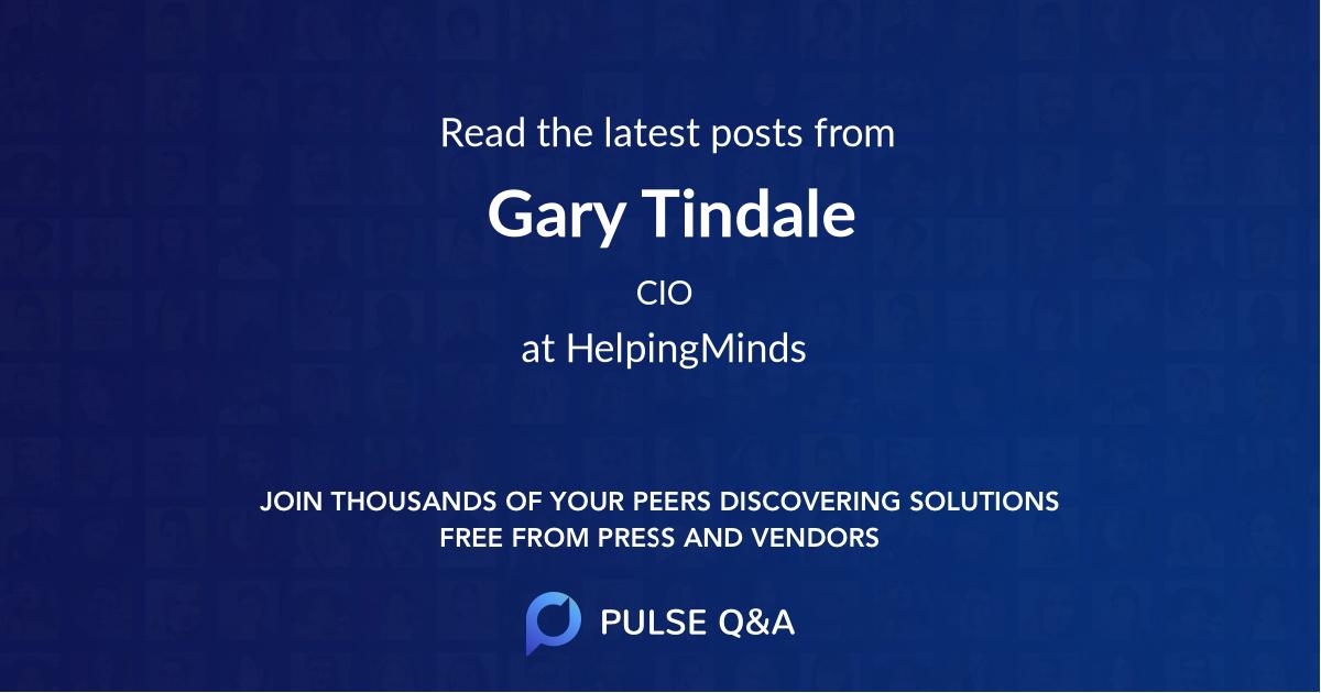 Gary Tindale