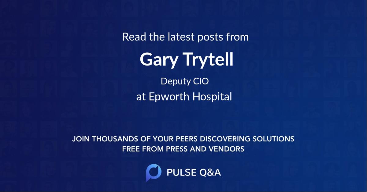 Gary Trytell