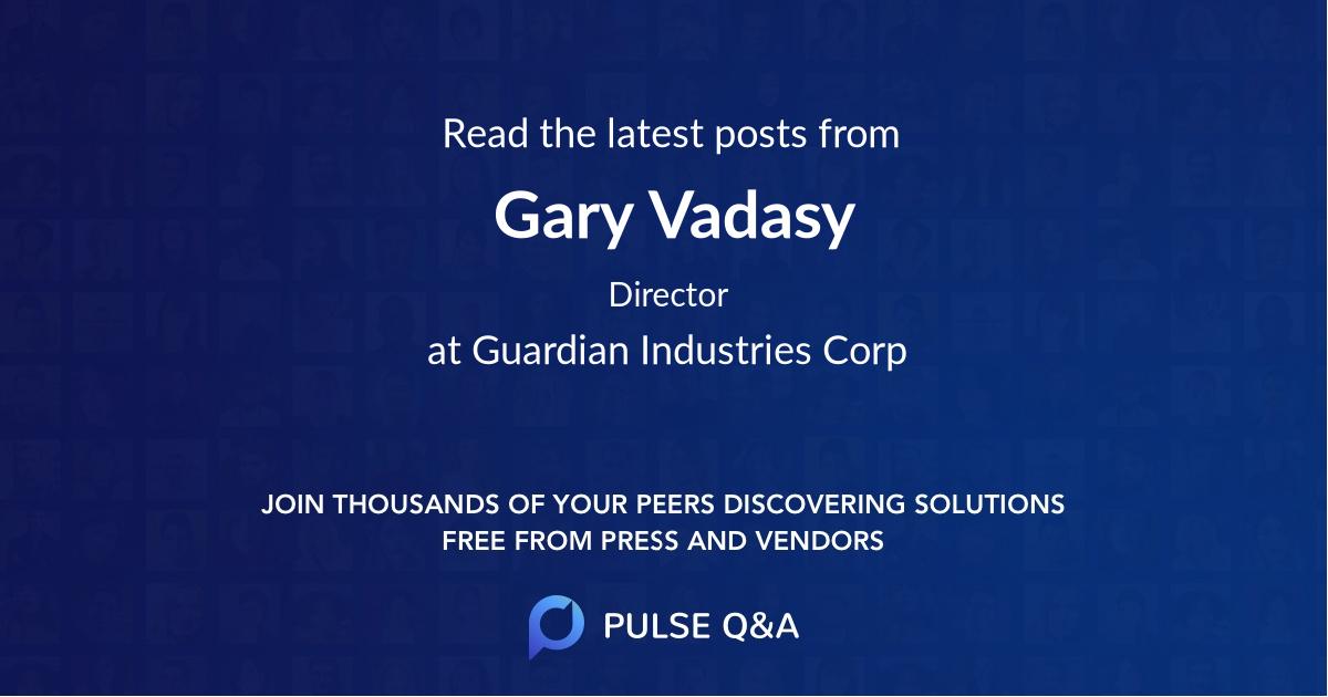Gary Vadasy