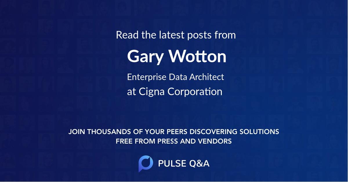 Gary Wotton