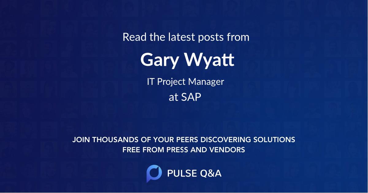 Gary Wyatt