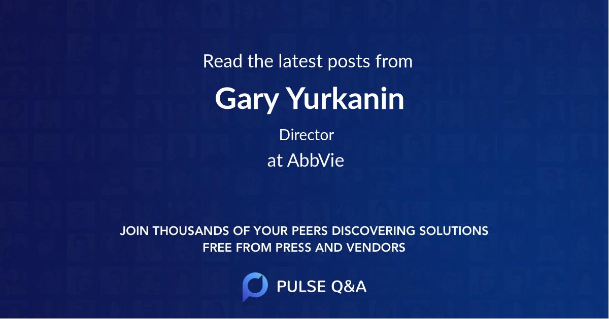 Gary Yurkanin