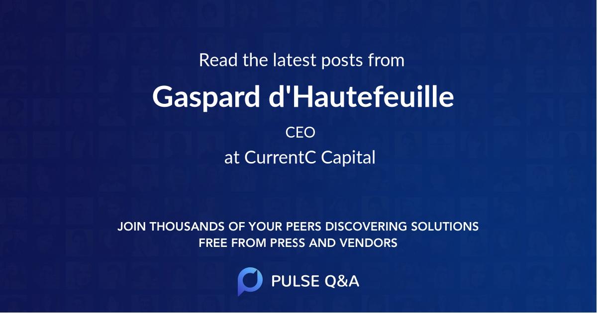 Gaspard d'Hautefeuille