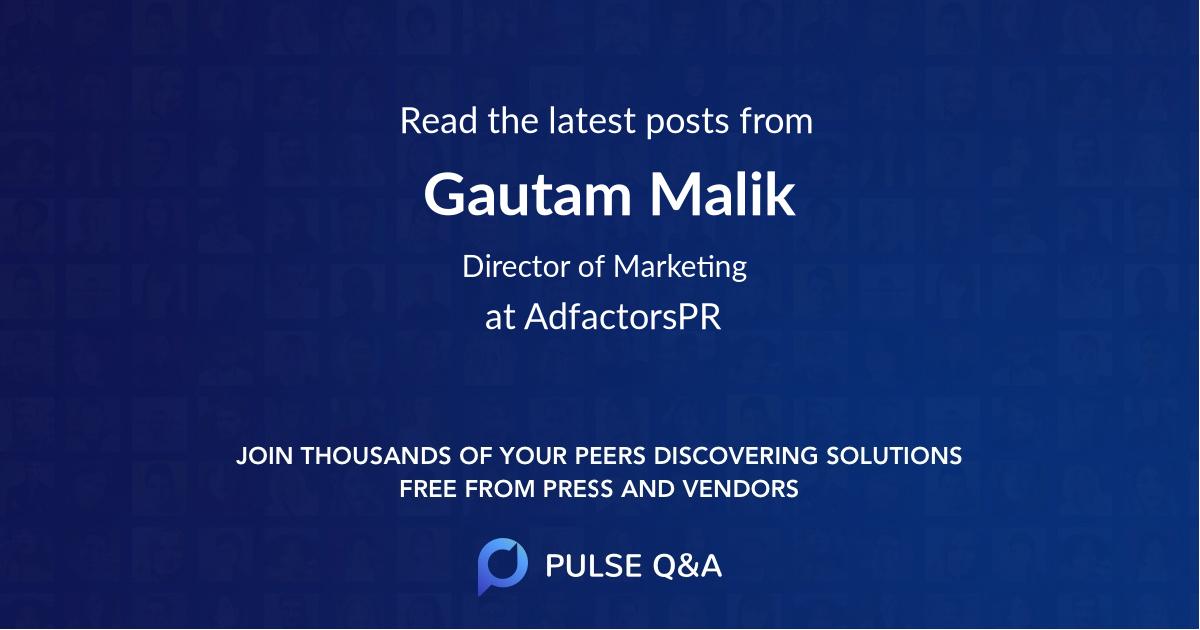 Gautam Malik