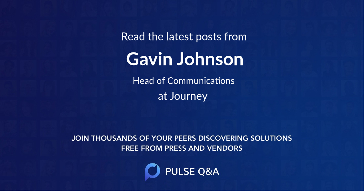 Gavin Johnson
