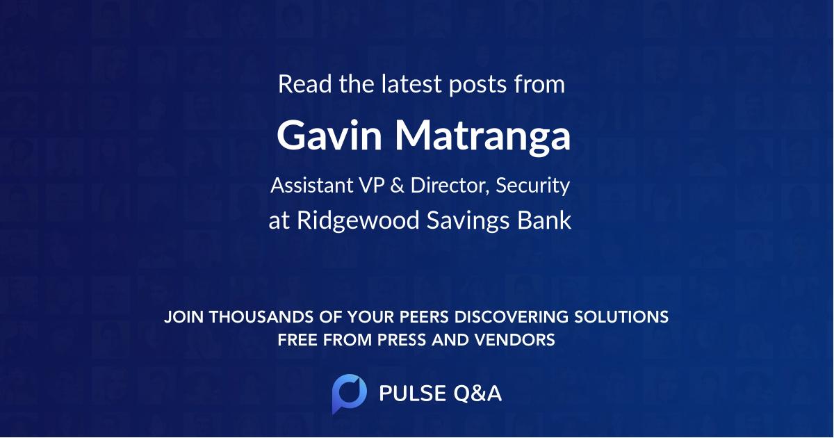 Gavin Matranga