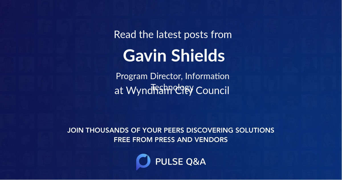 Gavin Shields