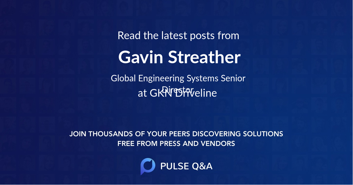 Gavin Streather