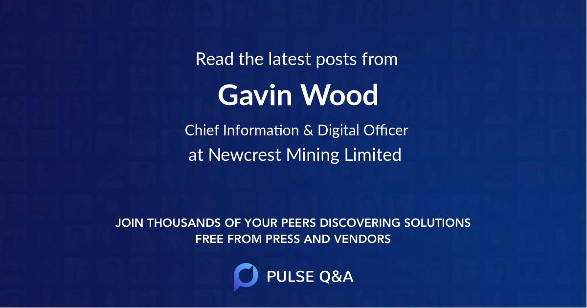 Gavin Wood