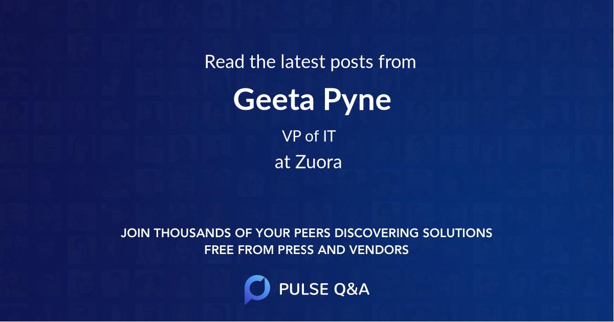 Geeta Pyne