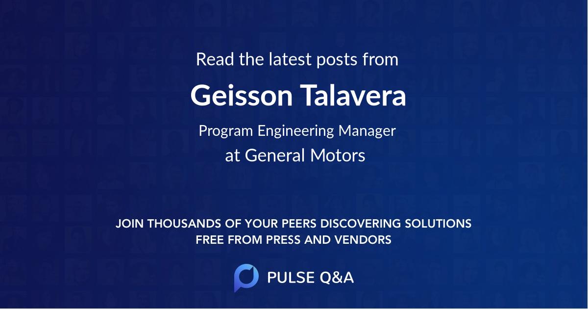 Geisson Talavera