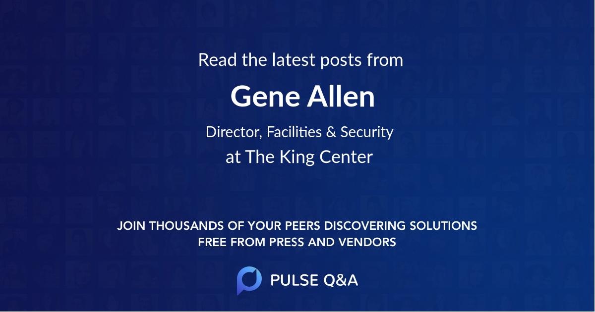 Gene Allen