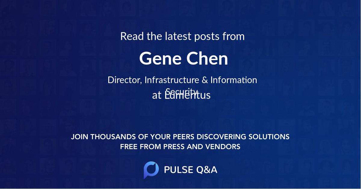 Gene Chen
