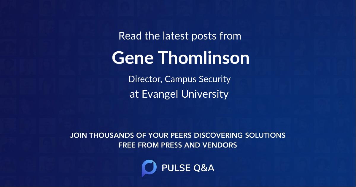 Gene Thomlinson