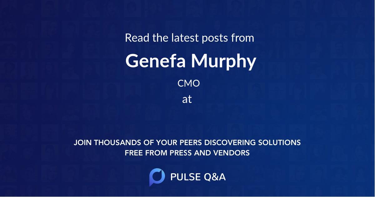 Genefa Murphy