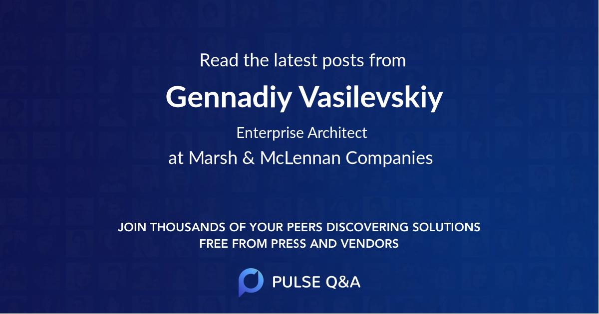 Gennadiy Vasilevskiy