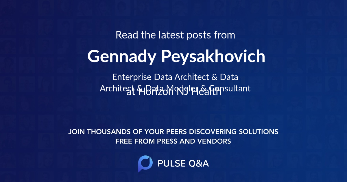 Gennady Peysakhovich