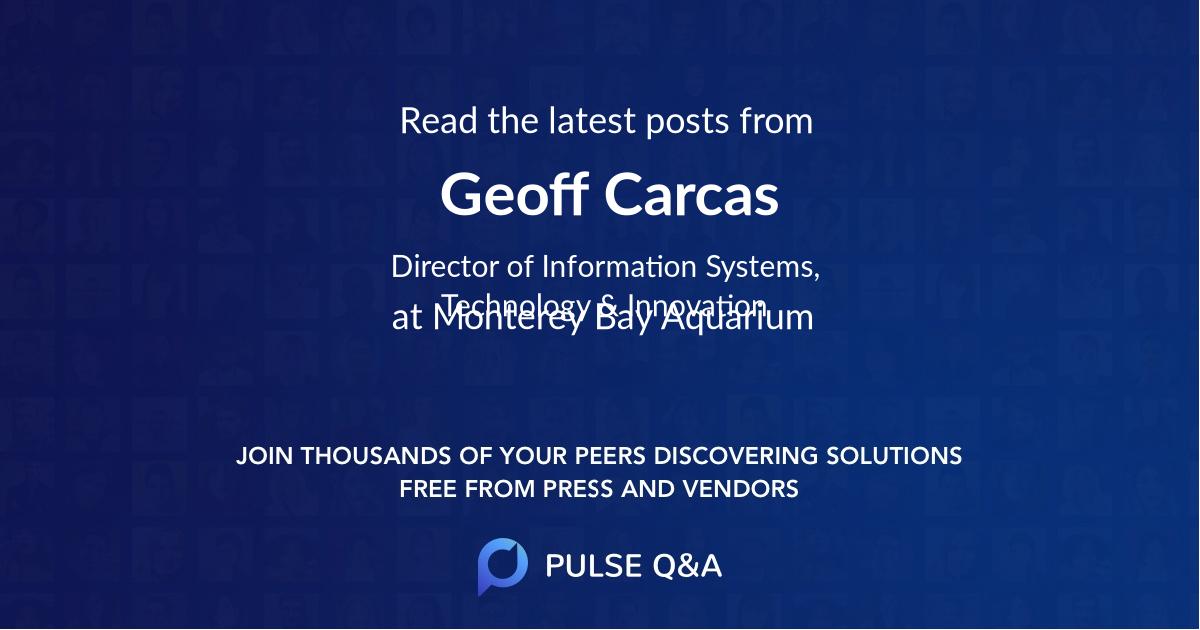 Geoff Carcas