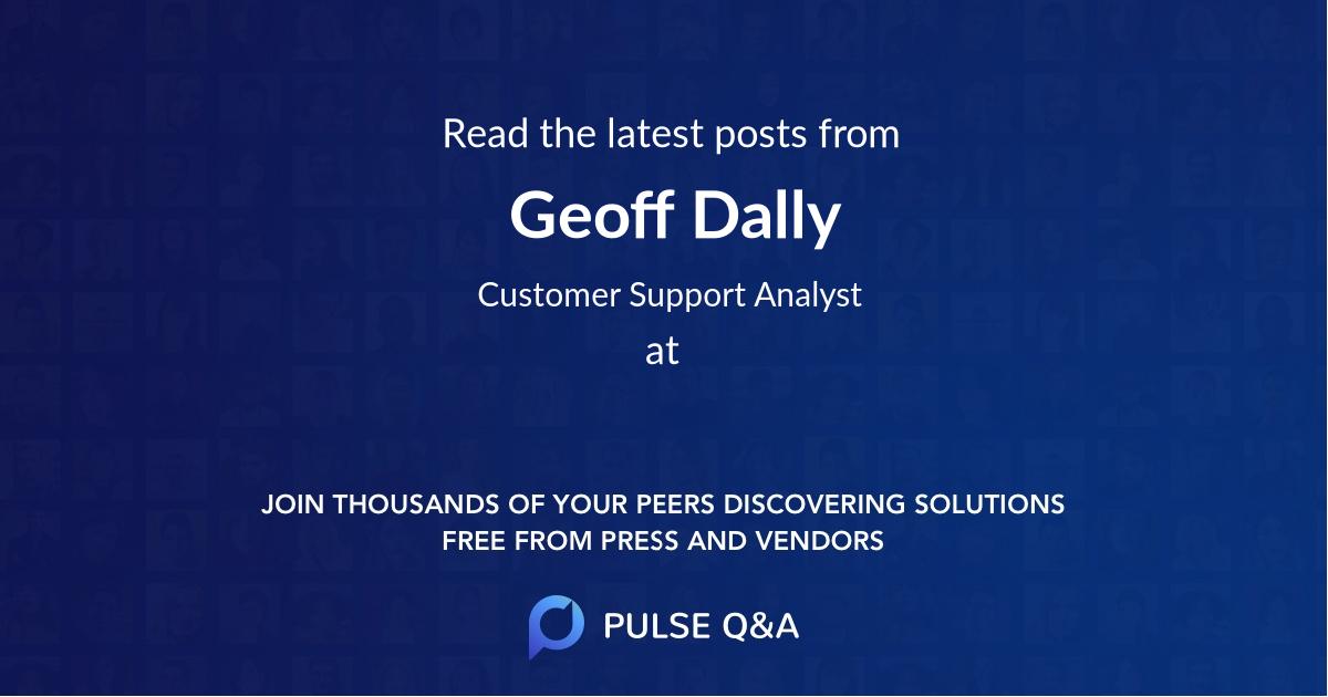 Geoff Dally