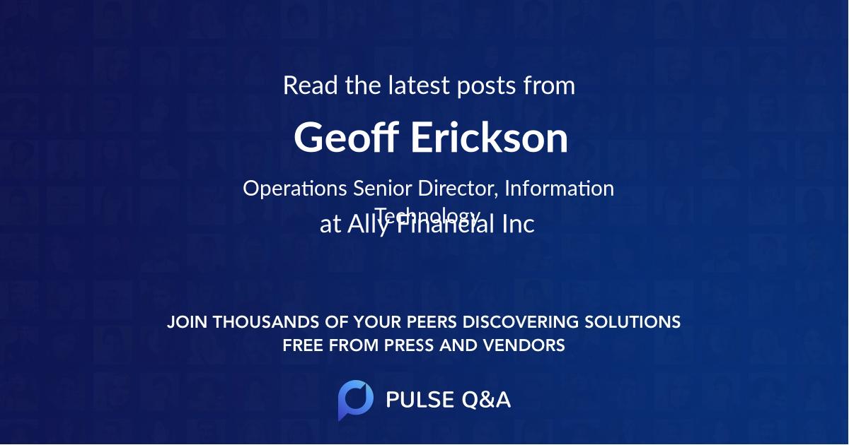 Geoff Erickson