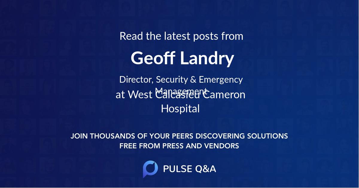 Geoff Landry