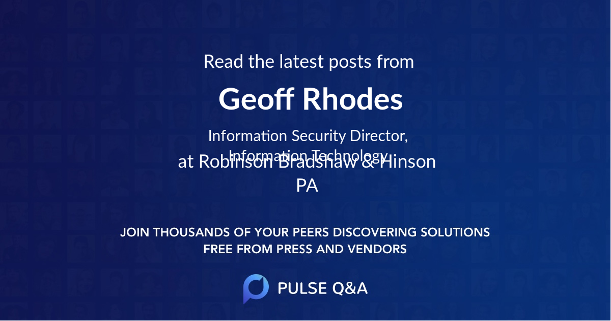 Geoff Rhodes