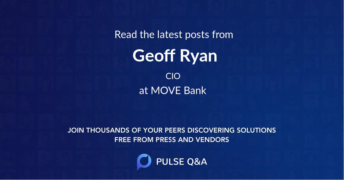 Geoff Ryan