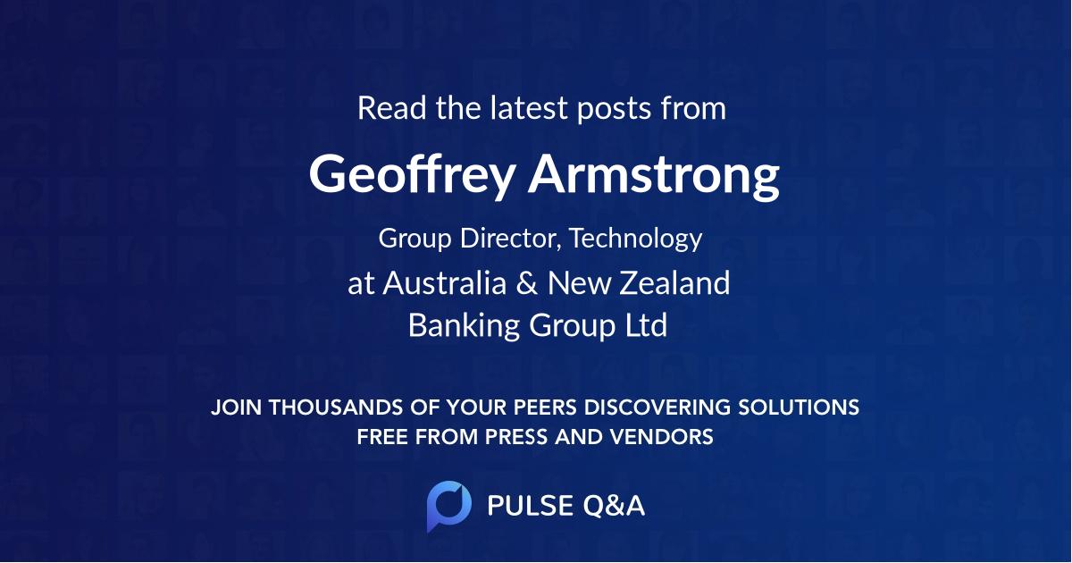 Geoffrey Armstrong