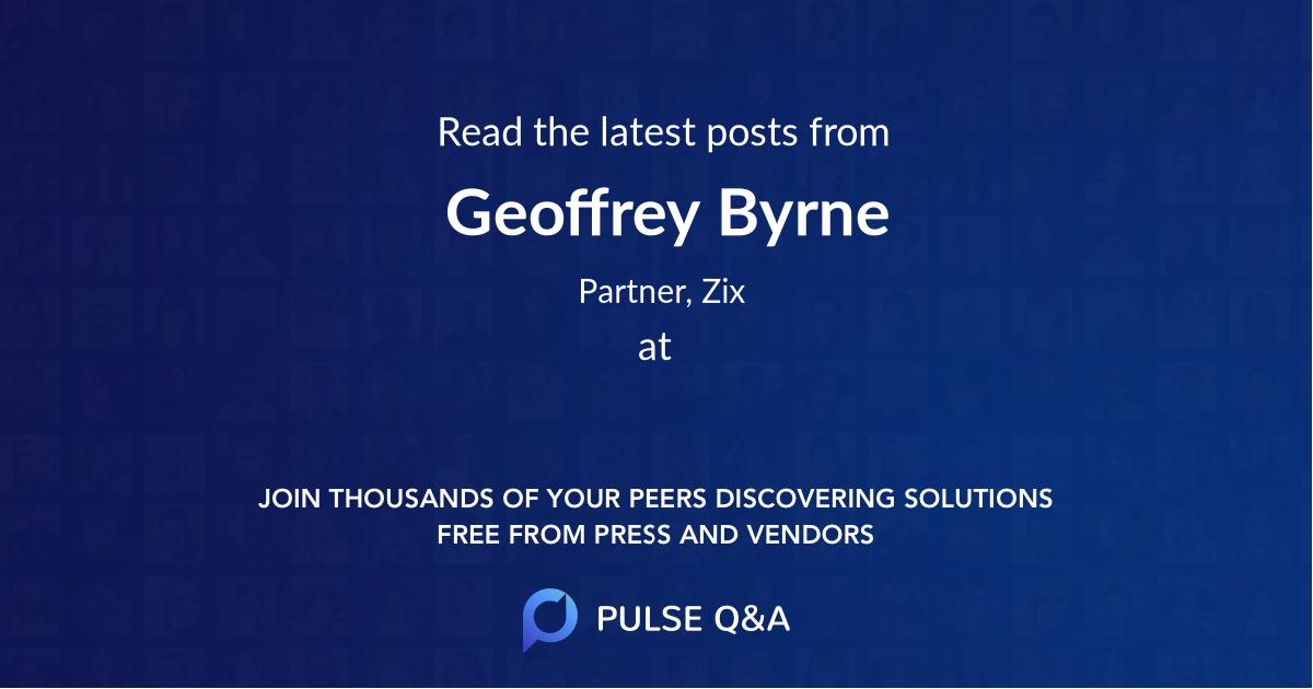 Geoffrey Byrne