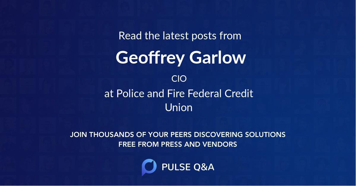 Geoffrey Garlow
