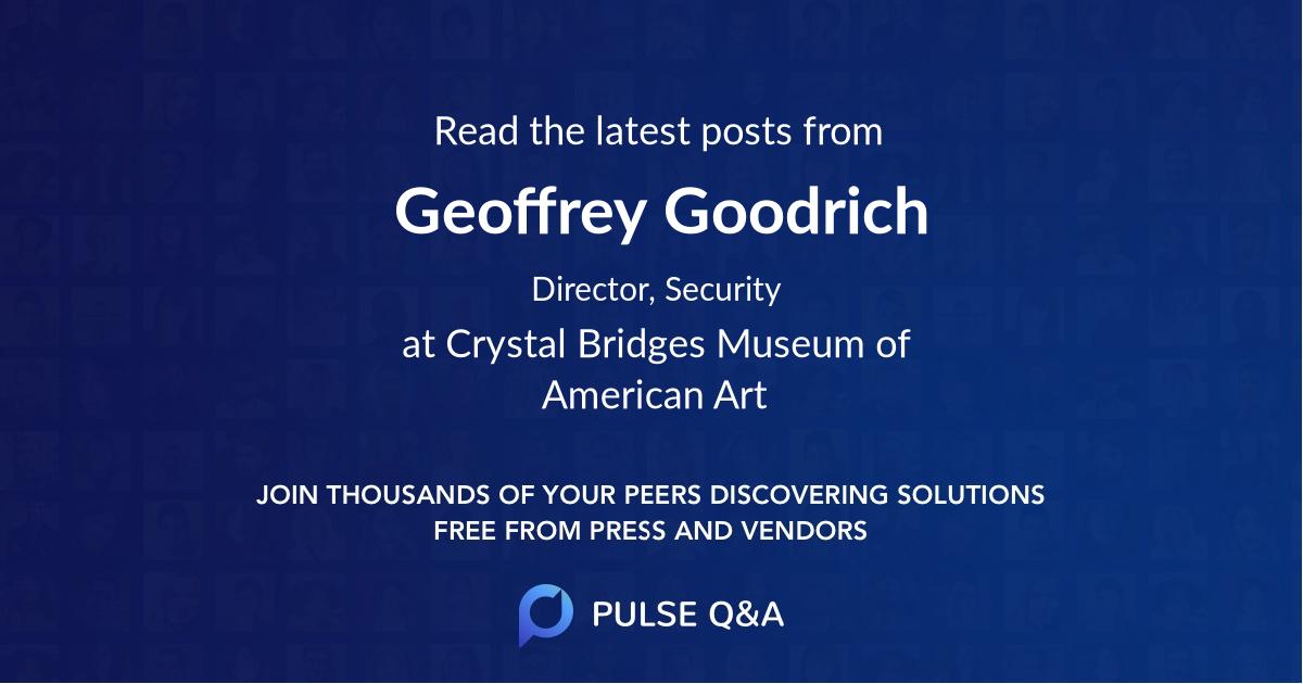 Geoffrey Goodrich