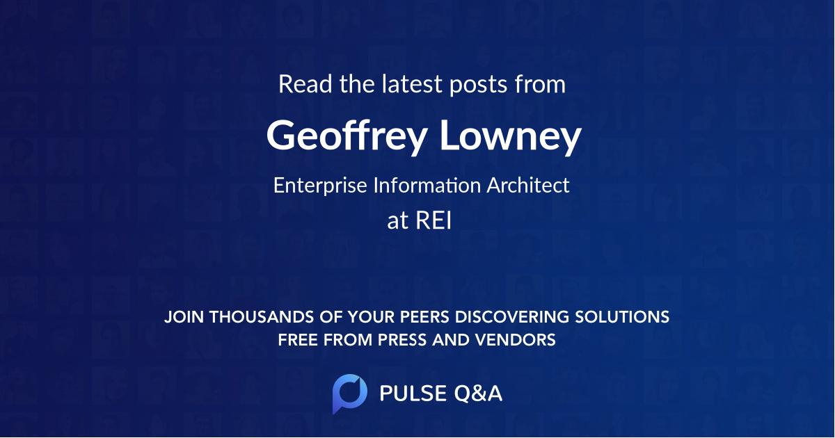 Geoffrey Lowney